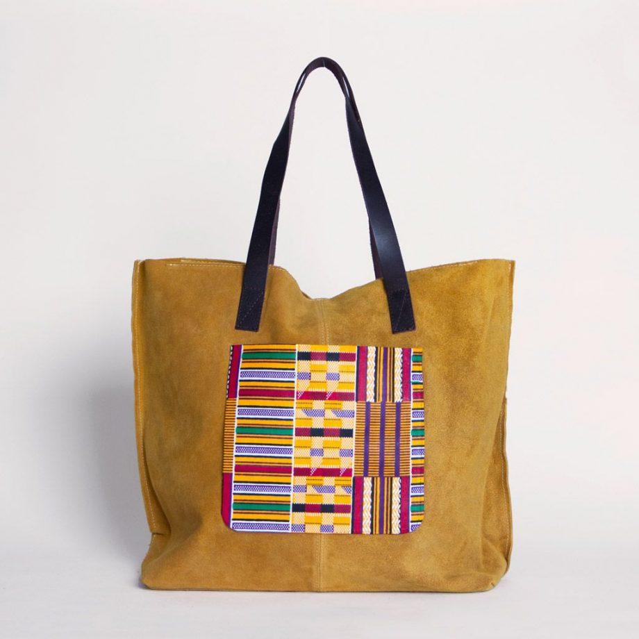 bolos ante grande amarillo tela africana ukat