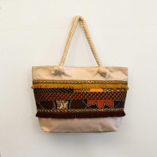 bolsa playa grande mujer original africana ukat