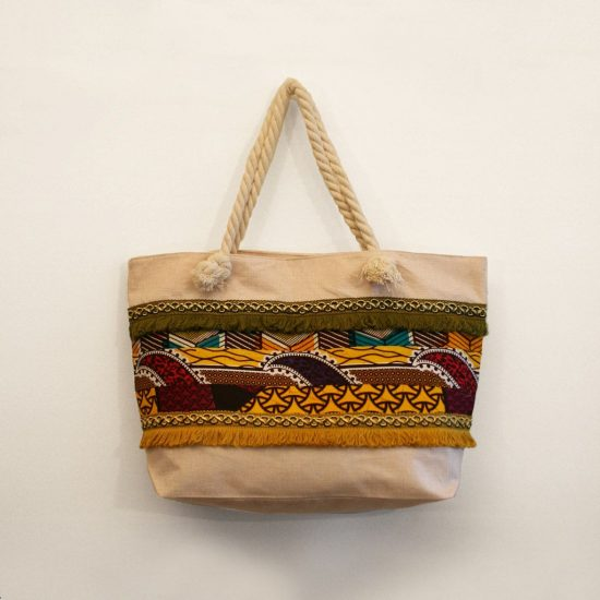 bolsa playa grande patchwork personalizada original ukat